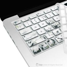 """Marble Pattern Ultra Thin Soft Silicone Keyboard Cover Skin for Macbook 13"""" 15"""" 17"""""""