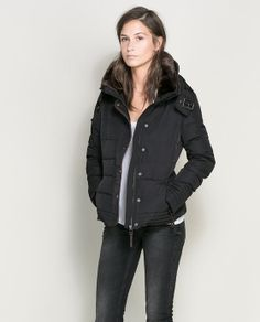 Loving this jacket too, for fall/winter! SHORT PUFFER JACKET from Zara