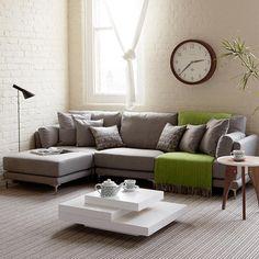 Modus | Corner sofa for a cozy living room | Modern Sofas http://modernsofas.eu/2016/03/03/salone-del-mobile-new-modern-sofas/ #modernsofas #sectionalsofa #loungesofa
