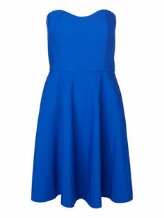 STRAPLESS TUBE SHORT DRESS, Navy Blue, main