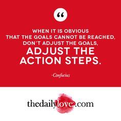 Visual Inspiration: Adjust The Action Steps