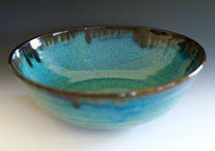 Large Handmade Ceramic Bowl by ocpottery on Etsy, $85.00