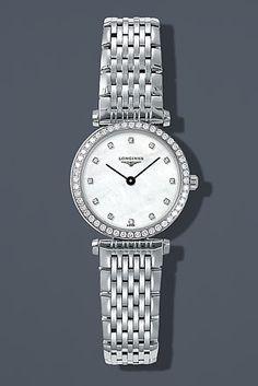 Longines La Grande Classique Mini Diamond Bezel Watch