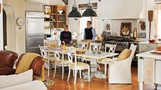 Dream Kitchen: International Flavor | Inspired by the kitchens of Italy and France, this Georgia kitchen is designed for gathering family and friends.
