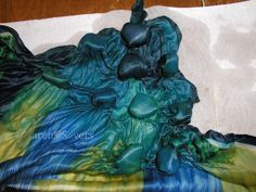 ...And Then We Set It On Fire: Stones and 3D Shibori