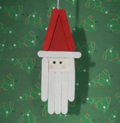 Top 10 PopsicleStick Christmas Ornament Crafts is part of Holiday crafts With Popsicle Sticks - A compiled list of the best popsiclestick Christmas ornaments from our family and all over the web! Christmas Ornament Crafts, Christmas Crafts For Kids, Christmas Projects, Kids Christmas, Holiday Crafts, Holiday Fun, Christmas Decorations, Spring Crafts, Christmas Snowman