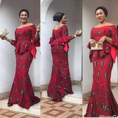 Chic, Trendy and well-groomed styles is a fashion mystérieuse va . When it comes to Ankara style, we have got you covered here at Wedding Digest Naija! In this special edition, we… Latest African Fashion Dresses, African Print Dresses, African Print Fashion, African Dress, African Prints, Unique Ankara Styles, Ankara Gown Styles, African Attire, African Wear