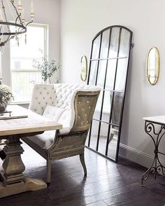 Love how cool neutral walls allow the furnishings and textures to lead. Louisiana Realtor Cheryl Moulin