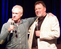 Brent Spiner, Jonathan Frakes -- Creation 2011 Star Trek Convention