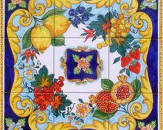 Hand Painted Italian Ceramics by CeramicsfromItaly on Etsy