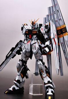 GUNDAM GUY: MG 1/100 Nu Gundam Ver. Ka - Painted Build