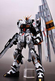 GUNDAM GUY: MG 1/100 Nu Gundam Ver. Ka - Painted Build