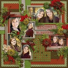 Christmas scrapbook layout by Dwilliamswood