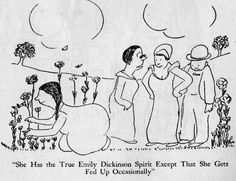 "Just read ""The Thurber Carnival,"" from which this cartoon was taken. Funny, funny stories..."