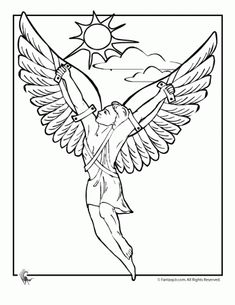 greek myths icarus Ancient Greek Gods and Greek Heroes Coloring Pages