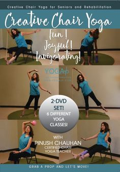 chair gym dvd set shower vs tub bench 15 best active accessories images stretch belt dupes creative yoga with pinush chauhan
