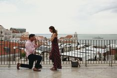 Looking for amazing proposal ideas? Take a cue from this incredible Lisbon proposal and plan a proposal full of surprises!   Flytographer Surprise Proposal, Proposal Ideas, Proposal Photographer, Cute N Country, Pull Off, Walking Tour, Some Pictures, Lisbon, Engagement Photos