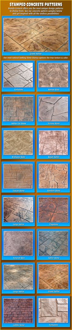 Stamped Concrete for back and front patio. Would love to have a patio or driveway like this! Concrete Patios, Concrete Patio Designs, Cement Patio, Backyard Patio Designs, Concrete Floors, Backyard Landscaping, Patio Ideas, Landscaping Ideas, Concrete Backyard