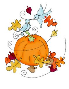 Free Dearie Dolls Digi Stamps: Reposting this little favorite of mine. Halloween Rocks, Theme Halloween, Fall Halloween, Pumpkin Drawing, Fall Clip Art, Fall Pictures, Pretty Pictures, Thanksgiving Cards, Autumn Art