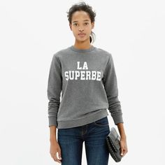 La Superbe Sweatshirt by Madewell