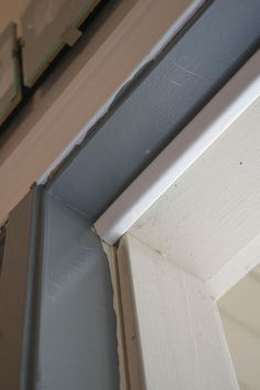 How to replace door weatherstrip, simple ways to improve a home's energy efficiency. Perfect Spring home improvement, great way to lower costs, simple DIY. Diy Screen Door, Diy Door, Door Weather Stripping, Spring Home, Exterior Doors, Simple House, Energy Efficiency, Simple Way, Blinds