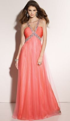 Paparazzi Halter Tulle Prom Dress 91059 by Mori Lee