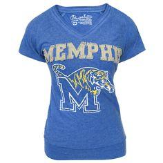 Women's Memphis Tigers Applique T-Shirt