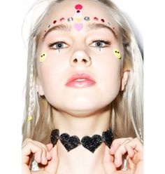 Marina Fini X Dolls Kill Heart Breaker Choker