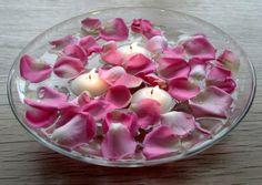 Floating Candle Wedding Centerpiece
