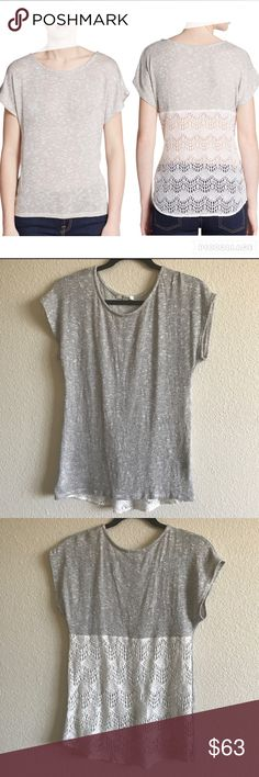 Ella Moss Sparkle Knit Top ⭐️NWOT⭐️ Beautiful Top. Runs true to size I never ended up wearing it but already took off the tag. Sold out everywhere. Dry clean only item.                                                         Fast shipping ⭐️⭐️⭐️⭐️⭐️⭐️ Ella Moss Tops