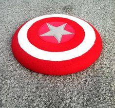 DIY Felt Super Hero Shield