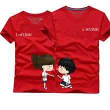 Valentine Lover couple Clothes Short Sleeve T-shirt Casual Summer T-Shirt Man and Woman Couple T-shirts Lovely Cartoon Tee Tops     Tag a friend who would love this!  US $8.17    FREE Shipping Worldwide     Get it here ---> http://hyderabadisonline.com/products/valentine-lover-couple-clothes-short-sleeve-t-shirt-casual-summer-t-shirt-man-and-woman-couple-t-shirts-lovely-cartoon-tee-tops/