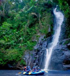 Whitewater rafting Bali
