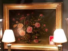 Signed Oil On Canvas Floral On Sale  Was $395 Sale Price $200  Dealer #1018  Lost. . .Antiques 1201 N. Riverfront Blvd. Dallas, TX 75207  Monday - Saturday: 10am - 5pm Sunday 11am - 5pm