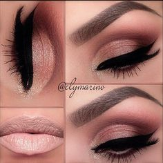 This is such a pretty look. Very do able with the naked 3 pallet