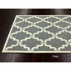 Handmade Luna Marrakesh Trellis Wool Rug (8'3 x 11')   Overstock.com