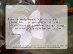 Aldous Huxley o życzliwości