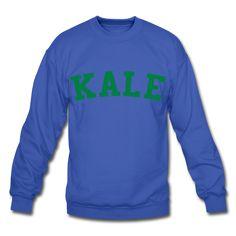Kale, Unisex Crewneck Sweatshirt