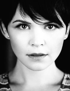 Ginnifer Goodwin. She's beautiful and I want her hair.
