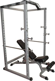 1. BD-11 Hard Power Rack w/out Lat Pull