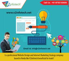 Is a professional Website Design and Internet Marketing Strategy company based in Noida like V2infotech beneficial for leads? Visit : http://www.v2infotech.net/web-design.aspx #WebsiteDesign #InternetMarketing #SEO #Delhi #India
