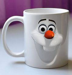 Olaf mug! https://www.etsy.com/listing/210140446/olaf-disney-frozen-mug-coffee-mug-funny