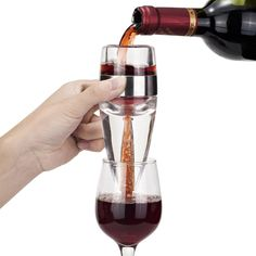 A wonderful Gift Idea is this classy WINE AERATOR - it releases the bouquet and full flavour of the wines you are serving by just pouring through the aerator into a wine glass, PLUS, it comes in an attractive presentation box. Click here for more info - https://www.facebook.com/photo.php?fbid=326160530855968&set=a.249966241808731.1073741828.249939075144781&type=1&theater #wineaerator