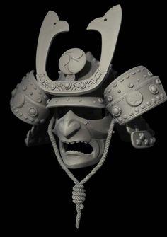 samurai mask - Hledat Googlem Real Samurai, Oni Samurai, Samurai Helmet, Samurai Tattoo, Hanya Tattoo, Japanese Warrior, Oriental, Masks Art, Japan Fashion
