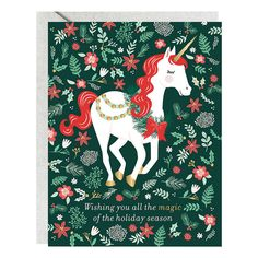 Let It Snow Five Dollar Shake Luxury Greeting Card 6 Boxed Christmas Cards