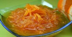 Recept na domácí pomerančovou marmeládu Preserves, Thai Red Curry, Pickles, Cabbage, Toast, Vegetables, Ethnic Recipes, Sweet, Food