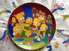 Simpsons Franklin Mint plate Three Eyed Fish