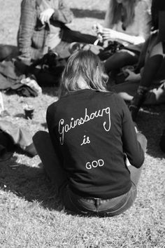 gainsbourg is god - I need this... it doesn't exist in my size... who can make me something similar