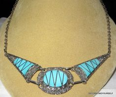 Native American Turquoise Zuni Sterling by DecoratingYourself, $51.00