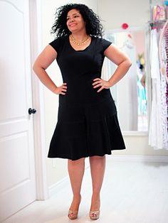 Travel Girl Plus Size Skater Dress – SexyPlus Clothing